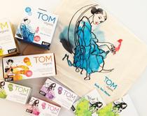 TOM Organic 有机超薄夜用女士卫生棉